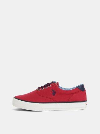 Pantofi sport barbatesti rosii U.S. Polo Assn.