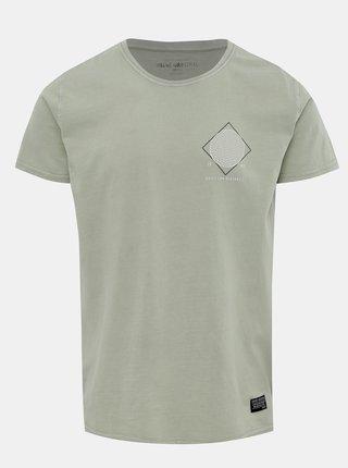 Světle zelené tričko s potiskem Shine Original