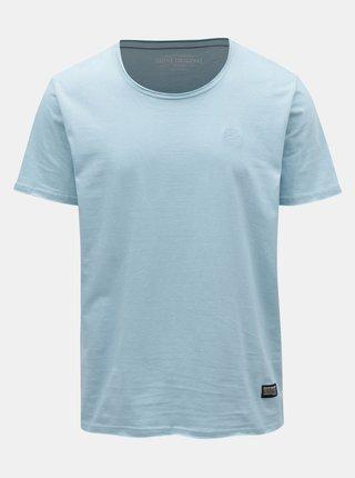 Světle modré žíhané tričko Shine Original
