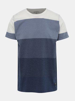 Tricou albastru in dungi Shine Original