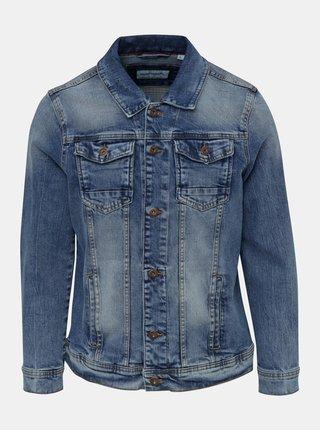 Jacheta albastra din denim Shine Original