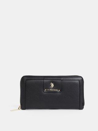 Černá dámská peněženka U.S. Polo Assn.