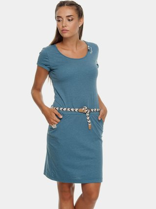 Rochie albastra cu cordon Ragwear Montana