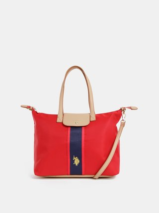 Červená kabelka U.S. Polo Assn.