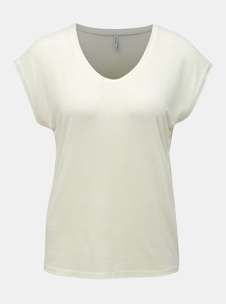 Tricou basic crem ONLY Wilma