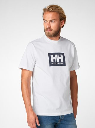 Biele regular fit tričko s potlačou HELLY HANSEN Tokyo