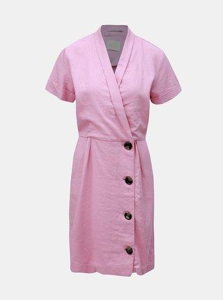 Rochie roz cu amestec de in VILA Semah