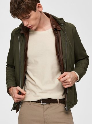 Khaki lehká bunda Selected Homme Philip