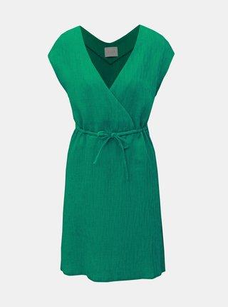 Rochie verde cu striatii VILA Chunny