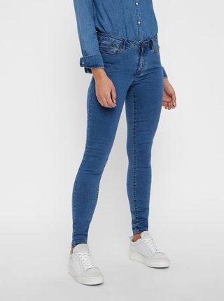 Modré slim džíny VERO MODA Julia