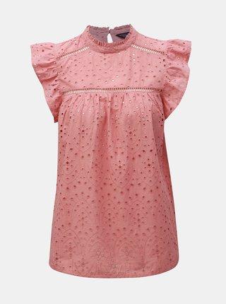 Bluza roz prafuit cu madeira Dorothy Perkins