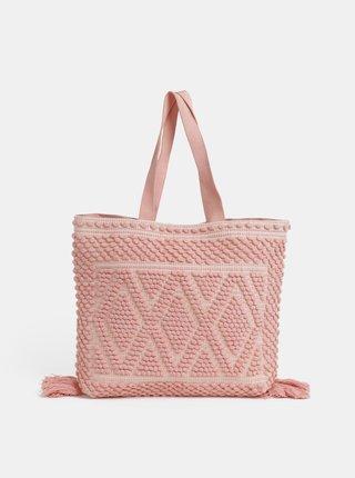 Geanta de plaja roz Dorothy Perkins
