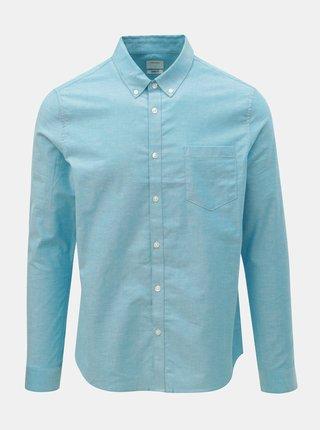 Svetlomodrá skinny fit košeľa Burton Menswear London