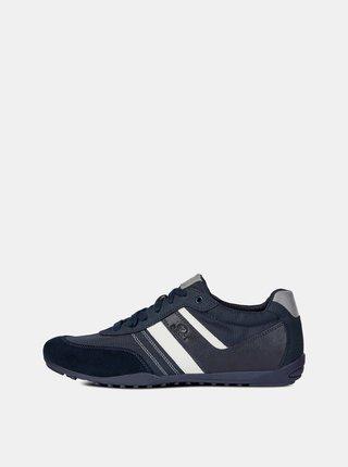Pantofi sport barbatesti albastru inchis Geox Garlan