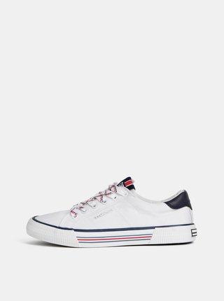 Pantofi sport albi de dama Tom Tailor Denim