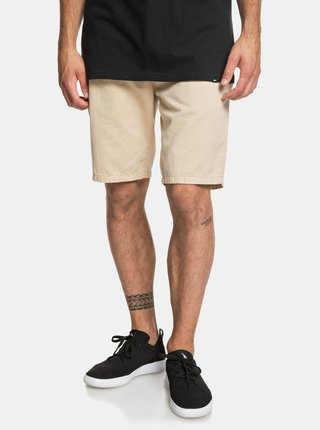 Pantaloni scurti bej chino Quiksilver Every Day Chilight