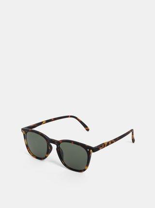 Hnedé vzorované slnečné okuliare IZIPIZI #E