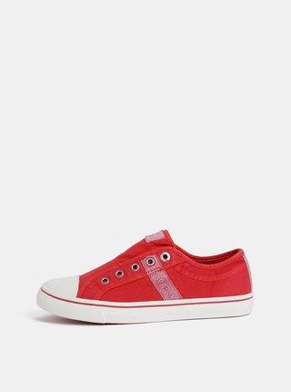 Pantofi slip on rosii de dama s.Oliver