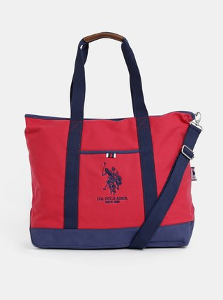Červená dámská taška U.S. Polo Assn.