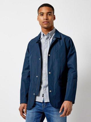 Jacheta albastru inchis lejera Burton Menswear London Hybrid