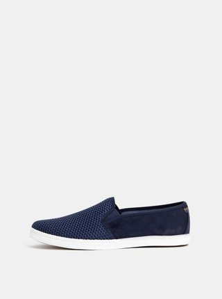 Tmavě modré pánské slip on Burton Menswear London Sandler