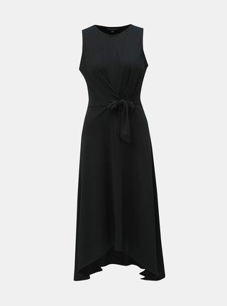 Černé šaty se zavazováním Dorothy Perkins