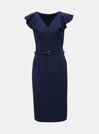 Rochie mulata albastru inchis cu curea Dorothy Perkins