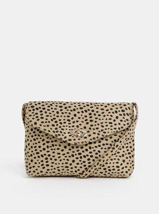 Světle hnědá crossbody kabelka s gepardím vzorem Dorothy Perkins