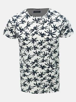 Tricou negru-alb cu model Dstrezzed