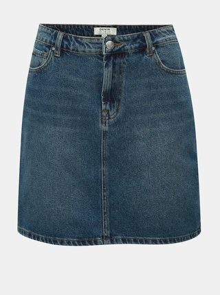 Fusta mini albastra din denim Dorothy Perkins