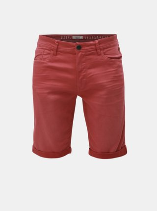 Pantaloni scurti rosii slim fit Blend