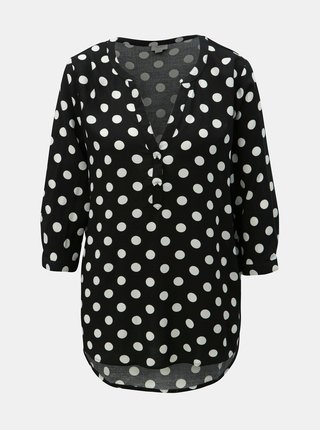 Bluza neagra cu buline Jacqueline de Yong Star
