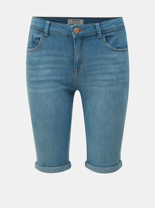 Pantaloni scurti albastru deschis regular fit din denim Dorothy Perkins