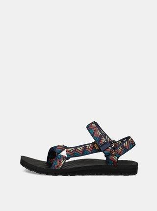 Tmavě modré dámské vzorované sandály Teva