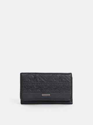 Čierna vzorovaná peňaženka Roxy Juno