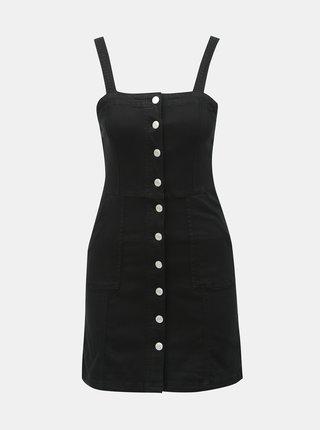 Čierne rifľové šaty TALLY WEiJL