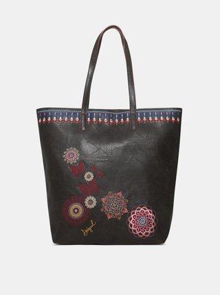 Černá kabelka s výšivkami Desigual Chandy Rio