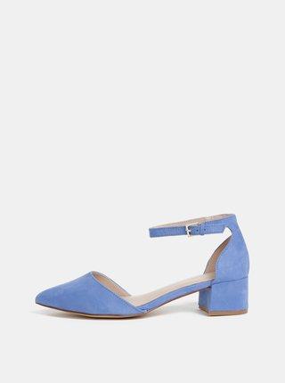 Pantofi albastri cu aspect de piele intoarsa ALDO Zulian