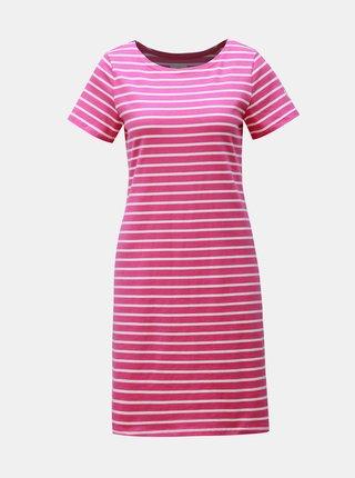 Ružové pruhované šaty Tom Joule Riviera
