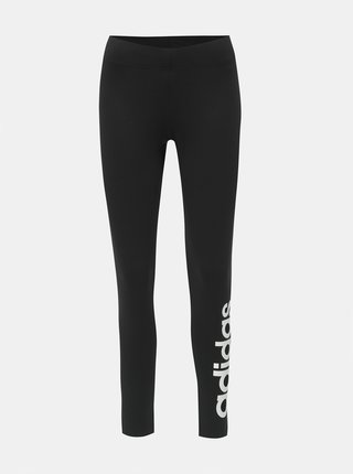 Leggings negri de dama adidas CORE Essentials Linear