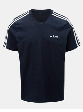 Tmavě modré pánské tričko adidas CORE Essentials