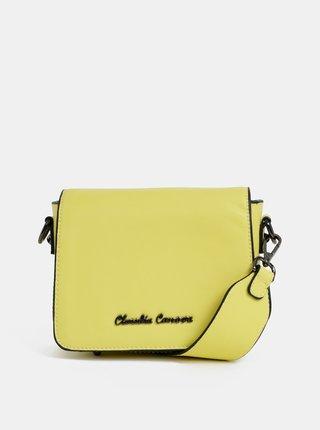 Žlutá crossbody kabelka Claudia Canova Priti