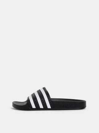Papuci negri adidas Originals Adilette