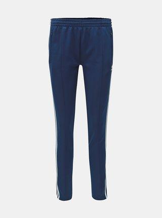 Pantaloni sport albastru inchis de dama cu dungi adidas Originals