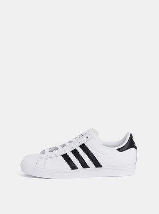 Bílé dámské kožené tenisky adidas Originals Coast Star