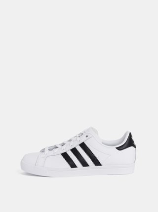 Pantofi sport albi de dama din piele adidas Originals Coast Star