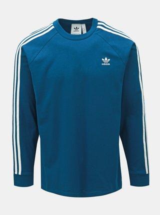 Bluza sport barbateasca albastra adidas Originals