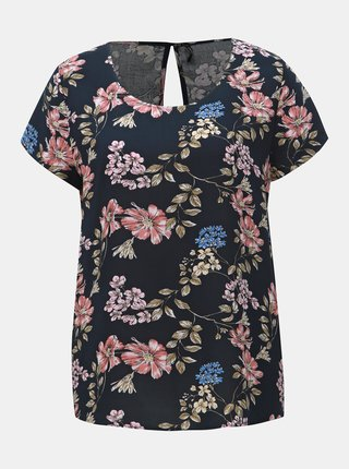 Bluza albastru inchis florala ONLY First
