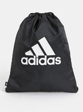 Černý vak s potiskem adidas Performance Gym