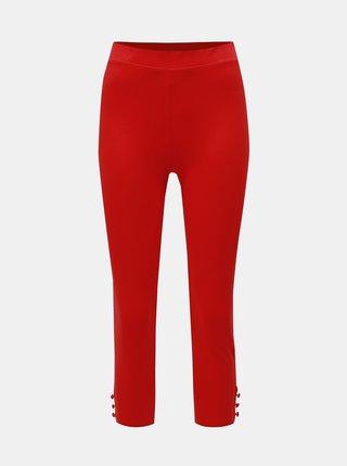 Leggings rosii pana la glezne M&Co